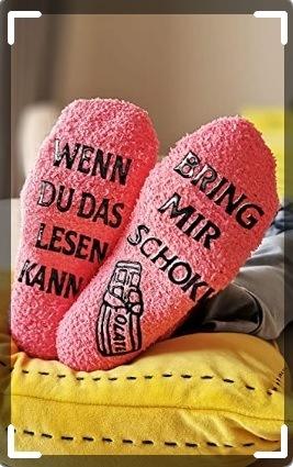 Lustige Socken für Frauen