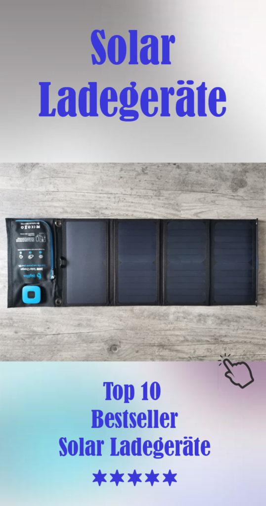 Die Solar Ladegeräte Bestseller Top 10