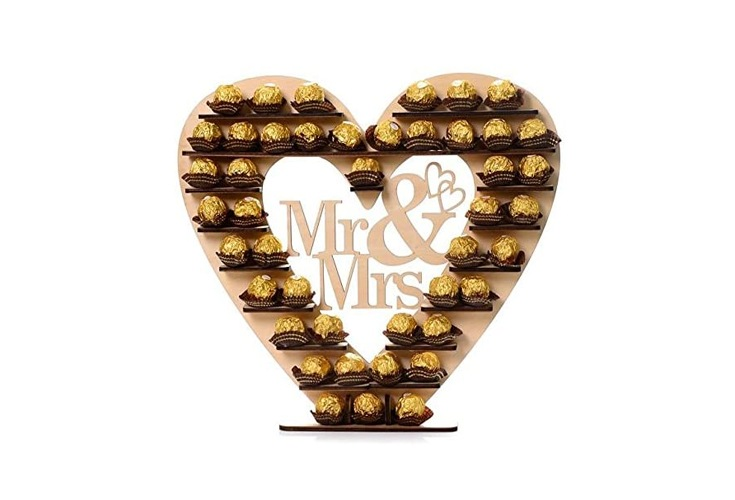 Mr & Mrs Ferrero Rocher Herz
