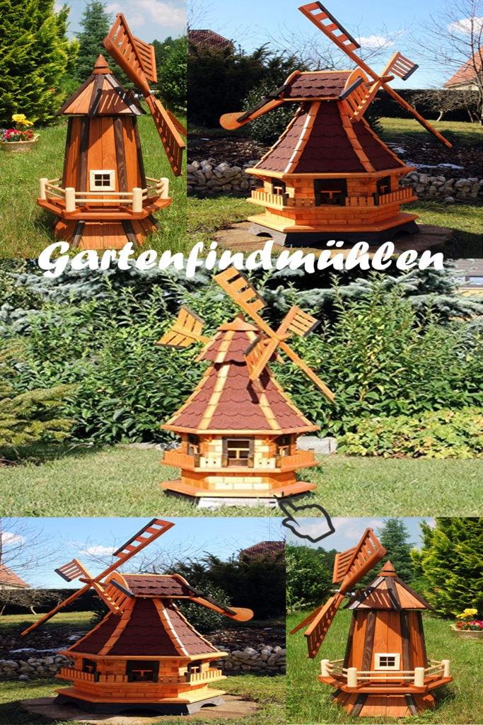 Top 3 Gartenwindmühlen
