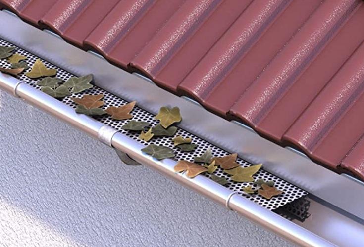 Aluminium-Dachrinnenschutz