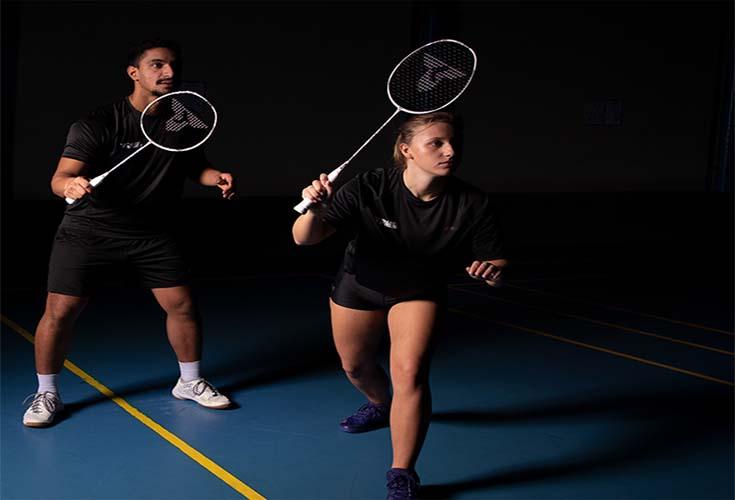 Badmintonschläger