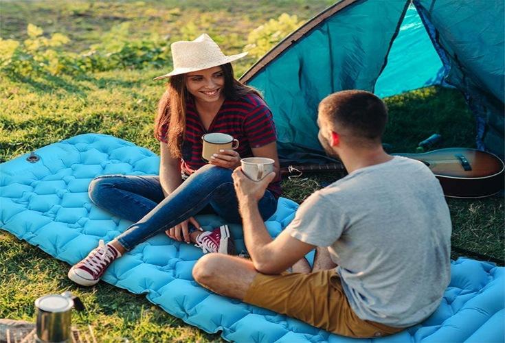 Campingluftmatratze