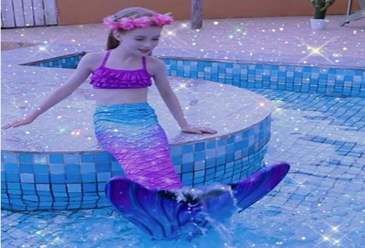 Meerjungfrauenschwänze